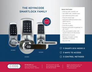The KeyinCode Smartlock Family