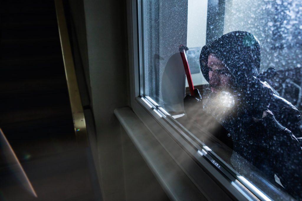 broken window burglary